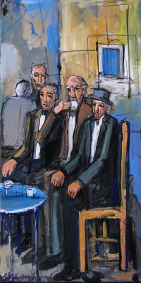 Nicosia-Coffee-Shop Alex Khattab Diachroniki Gallery