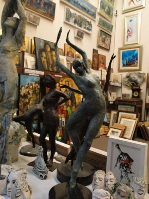 gallerylefkosia sculptures Diachroniki Gallery