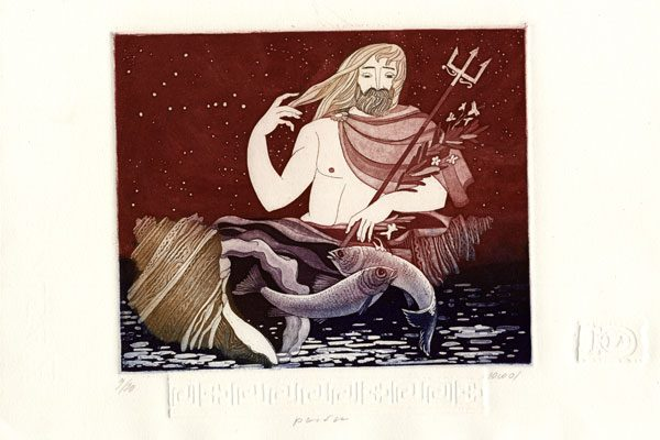 Male-Pisces-aquatint-Printing-Diachroniki Gallery