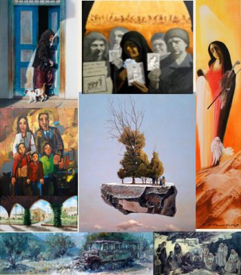 Exhibitions in Cyprus Cyprus-of-the-Past-and-Present-through-Art-event