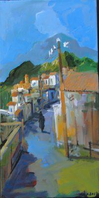 Village Scene Alex Khattab Diachroniki Gallery