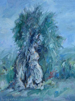 Slumber. Kofinou painting Paskalis Anastasi Diachroniki Gallery