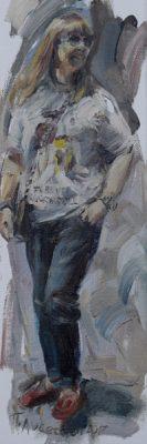 Forever Rock N Roll painting Paskalis Anastasi Diachroniki Gallery