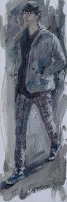 Wandering painting Paskalis Anastasi Diachroniki Gallery