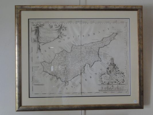 Map of Cyprus Diachroniki Gallery