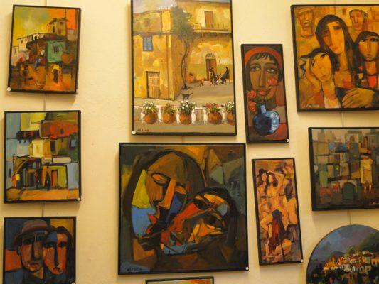 Galleries n Cyprus