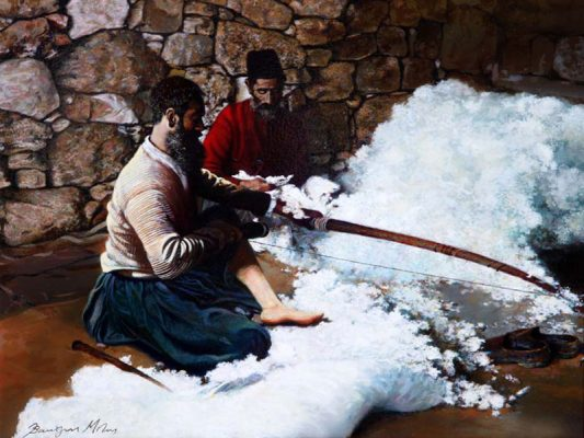 Vasilis Mitas painter Diachroniki Gallery
