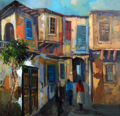 Stroll in Nicosia Alex Khattab