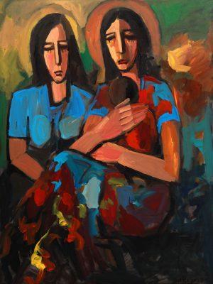 Sisters Alex Khattab Diachroniki Gallery