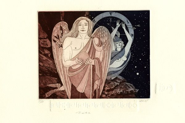 Man-Virgo-aquatint-Printing Diachroniki Gallery