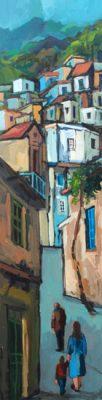 Alex Khattab paintings Diachroniki Gallery